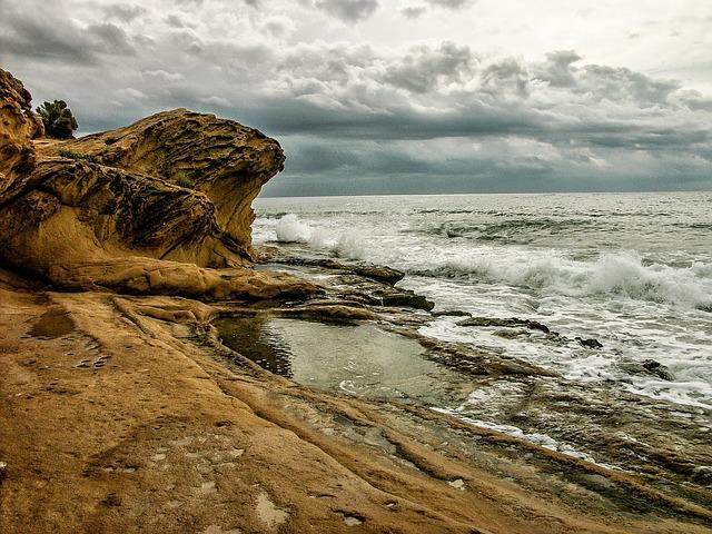 playa  cabo de la huertas